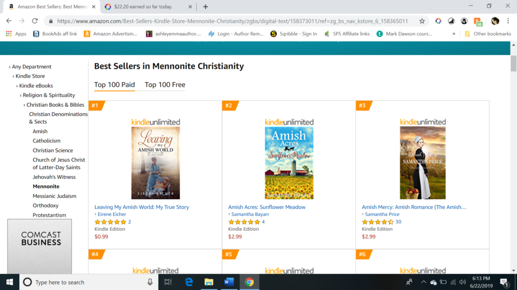 Client Testimonials – Love Amish books? Search for Ashley